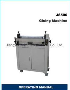Factory Price Gluing Machine Js500 pictures & photos