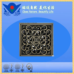 Xc-006 High Quality Sanitary Hardware Brass Floor Drain pictures & photos