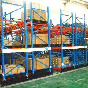 Automatic High Density Storage Electric Mobile Rack pictures & photos