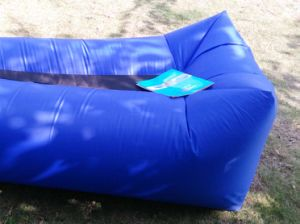 Update Festival Camping Holiday Laysack Inflatable Air Bed Sofa Lounge (L132) pictures & photos