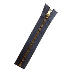 No. 5 Golden Brass Close End Zipper pictures & photos