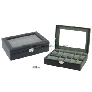Glasses Window 12PCS Watches Storage Watch Case Watch Box pictures & photos