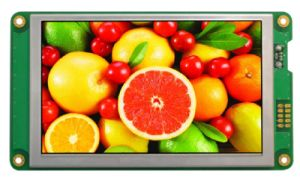 "800X480 5"" TFT LCD Display RS232 Interface Smart LCD Module (HMT050ATA-C) pictures & photos"