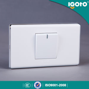 1 Gang Switch with Chorming Frame pictures & photos