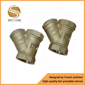 11/2 Inch Forged Female Brass Y Strainer Valve pictures & photos