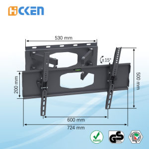 Economical Tilt TV Mount, Flat Panel TV Wall Mount, TV Wall Mount Bracket pictures & photos