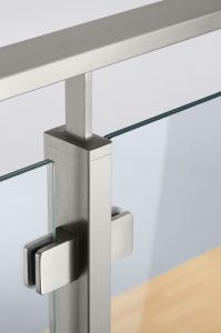 Stainless Steel Rectangular Glass Handrail pictures & photos
