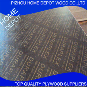 Outdoor First-Class 18mm Brown Film Faced Plywood pictures & photos