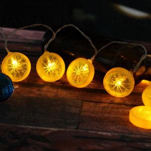 Competitive Price Lemon Shape LED Decorative Light pictures & photos