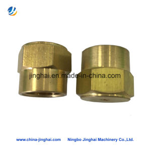 OEM Machining Copper DIN934 Hex Nuts Brass Fasteners pictures & photos