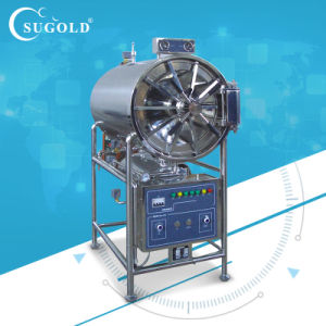 Horizontal Cylindrical Pressure Steam Sterilizer (WS-150YDC/WS200YDC/WS280YDC/WS400YDC) pictures & photos