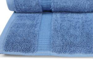 100% Genuine Turkish Cotton Eco-Friendly Blue Bath Towels (DPF107201) pictures & photos