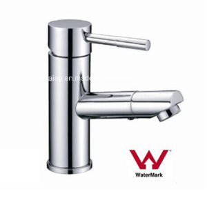 Australia Standard Sanitary Ware New Design Round Brass Body Chrome Plated Bathroom Single Lever Faucet (HD4231STD7) pictures & photos