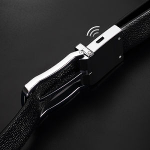 Men Smart Leather Belt Pin Buckle Phone Anti Lost Alarm pictures & photos