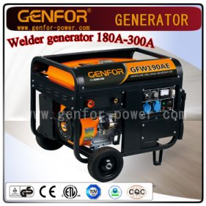 Gasoline Welder Generator Double Use Machine 100A-300A pictures & photos