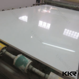 Kkr Artificial Stone Mirror White Quartz Stone pictures & photos