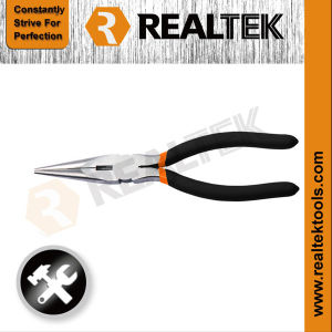 Professional American Type Long Nose Pliers with Dipped Handle pictures & photos