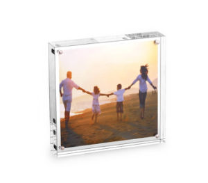 Clear Acrylic Frames Wedding Photo Frame with Screw pictures & photos