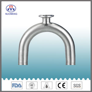 Sanitary Stainless Steel Clamped U-Type Tee pictures & photos
