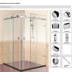 Frameless Shower Door Hardware Sliding Door system pictures & photos