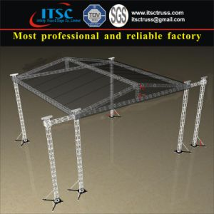 Aluminum Lighting Stage Truss Roof with Triangular Top for Outdoor Event pictures & photos