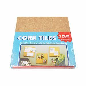 4 PCS Cork Mat Sets for Kitchenware pictures & photos