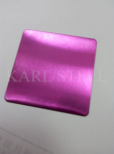 Stainless Steel Color Etched Ket001 Sheet for Decoration Materials pictures & photos
