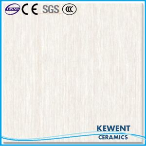 Building Material Linestone Design White Color Polished Porcelain Floor Tile pictures & photos