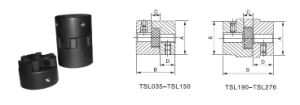 Tsl Setscrew Type Curved Jaw Coupling pictures & photos