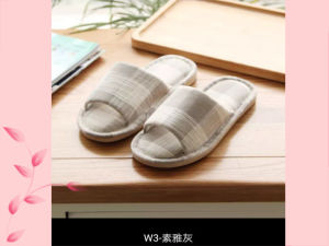 Lattice Summer Indoor Nice Open Toe Slipper Men and Wonmen pictures & photos