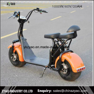China Yongkang Factory The Most Fashionable Citycoco 2 Wheel Electric Scooter, Adult Two Wheel Electric Bike pictures & photos
