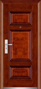 Steel Security Doors Made in China Interior Steel Security Doors pictures & photos