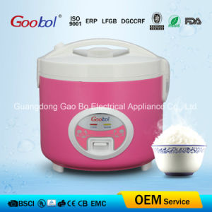 New Design Red Colour Stable Full Body Electric Rice Cooker 5L pictures & photos
