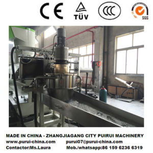 Waste Plastic BOPP Film Recycling Machine with PLC Touch Screen Control pictures & photos