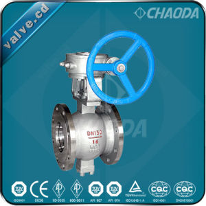 Flanged Ends V Type Ball Valve pictures & photos