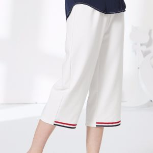 High Fashion Women Leisure Stripe Preppy Sport Pants pictures & photos