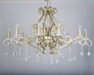 UL Approval Iron Wrought Comtemporary Indoor Crystal Chandelier pictures & photos