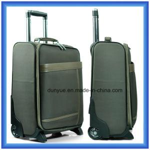 Promotional Customized Nylon Travel Trolley Bag/Suitcase, Hand Luggage Suitcase with Wheels