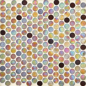 Round Glass Mosaic for Floor pictures & photos