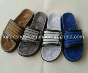 New Arrival Sansals Men′s Casual EVA Slippers Wholesale (FFMXD0218-01) pictures & photos