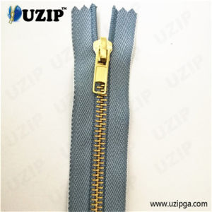 Garment Accessories Supplier Pants Zipper / Slider Metal Brass Zip / Best Quality Denim Zippers