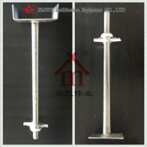 Cold DIP Galvanized Seamless Hollow and Solid U-Head Screw and Base Jack pictures & photos