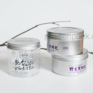 16oz Pet Plastic Food Jar with Embossed Metal Lid (PPC-PJ-1701) pictures & photos
