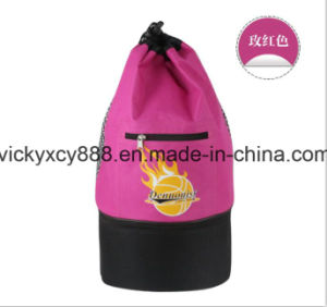Outdoor Sports Waterproof Football Basketball Drawstring Backpack Bag (CY3597) pictures & photos