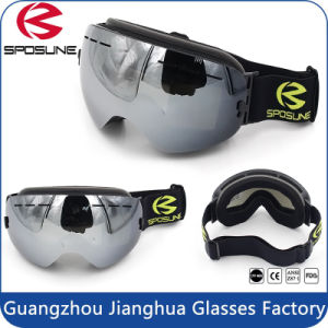Factory Wholesale HD Version Anti-Fog Double Lens Comfortable Snowboard Ski Goggles pictures & photos