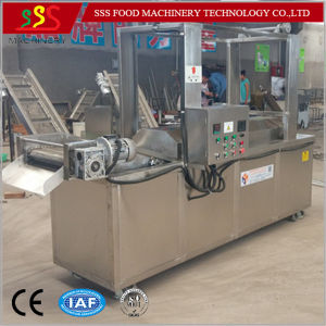 Automatic Continuous Fryer with Oil Filter System pictures & photos