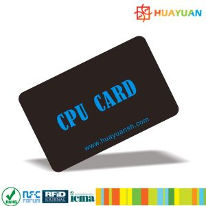 Programmable smart RFID FM1216 CPU chip card pictures & photos