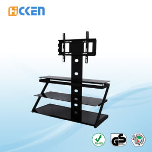 Wholesale Cheap Made in China Glass and Metal MDF Corner LCD LED Modern TV Stand pictures & photos