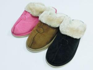Ladies Warm Winter Indoor Nice Soft Slipper for Winter pictures & photos