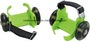 Newest Adjustable Flashing Roller Skates with Button pictures & photos